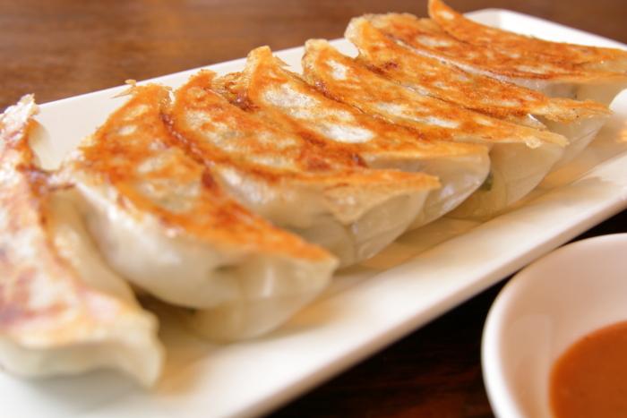 華珍園別館 焼餃子
