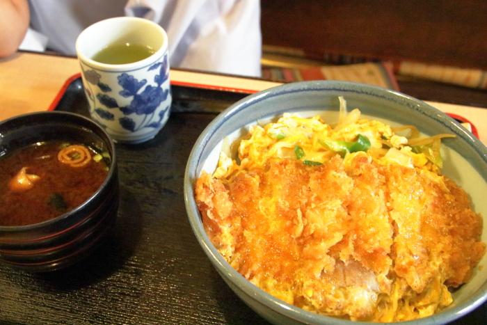 高知南国市レストラン グドラック カツ丼