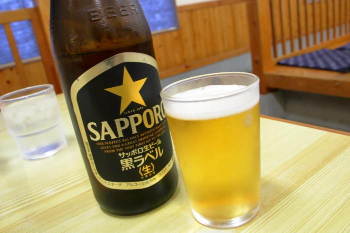 かいだ屋 瓶ビール