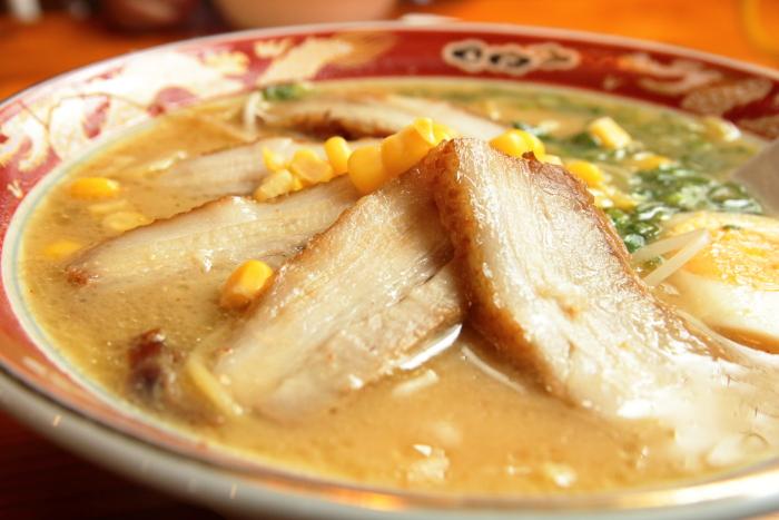 自由軒大津店 味噌チャーシュー麺