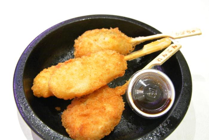 はま寿司 串カツ盛り合わせ
