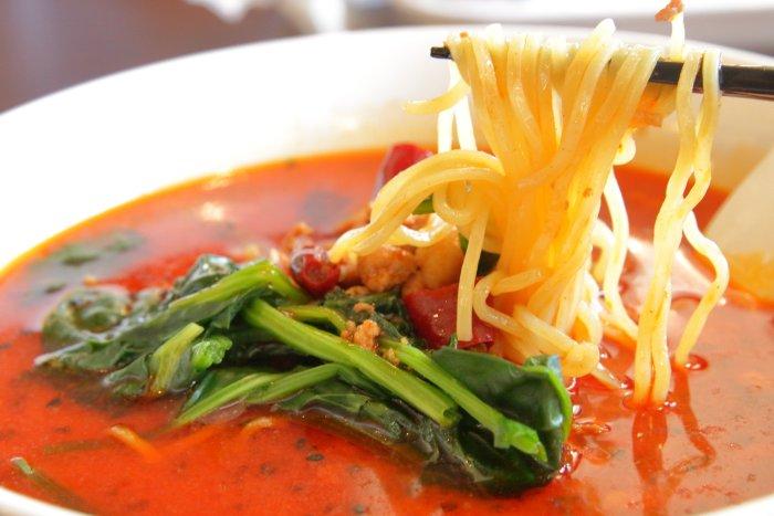 台湾料理鑫旺(シンオウ)ランチの担々麺 高知市大津