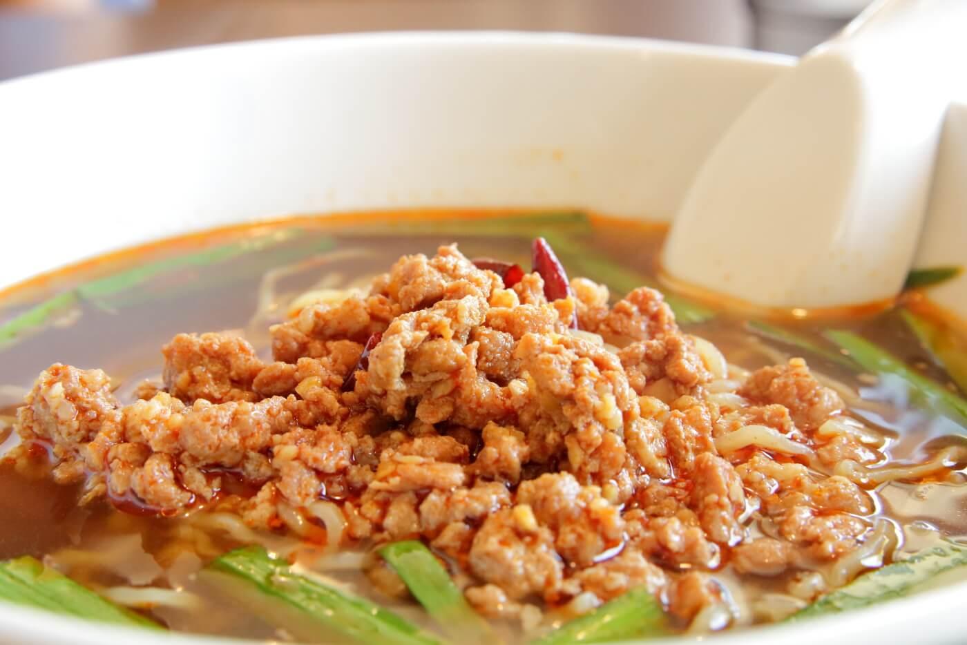 台湾料理鑫旺(シンオウ)ランチの台湾ラーメン 高知市大津