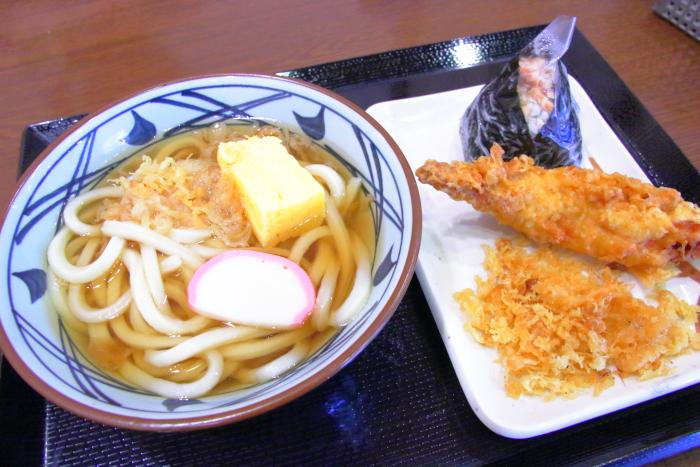 丸亀製麺のうどん まんぷくセット