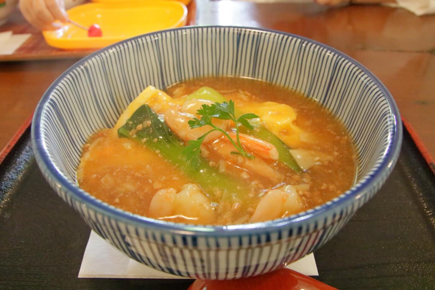 レストラン ゲンダイの天津飯