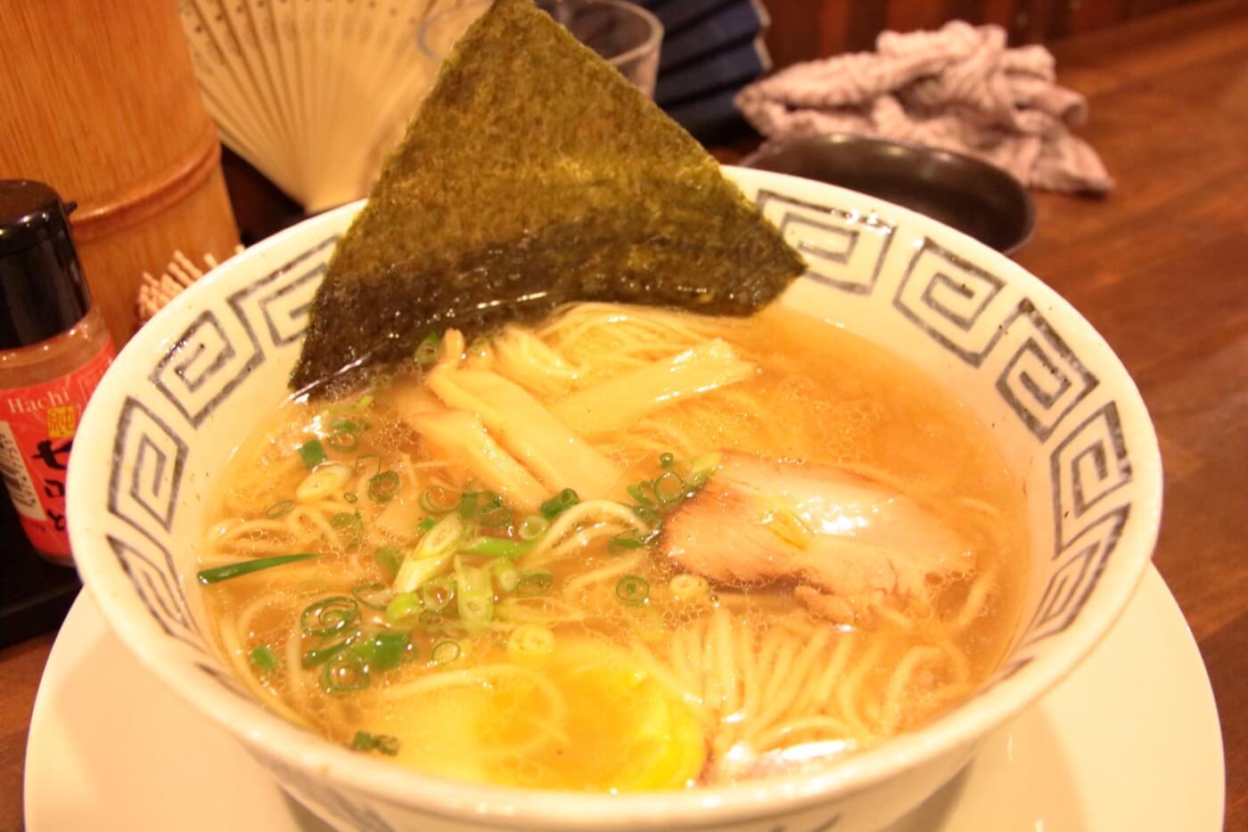 ジェントル麺喰楽部 醤油ラーメン