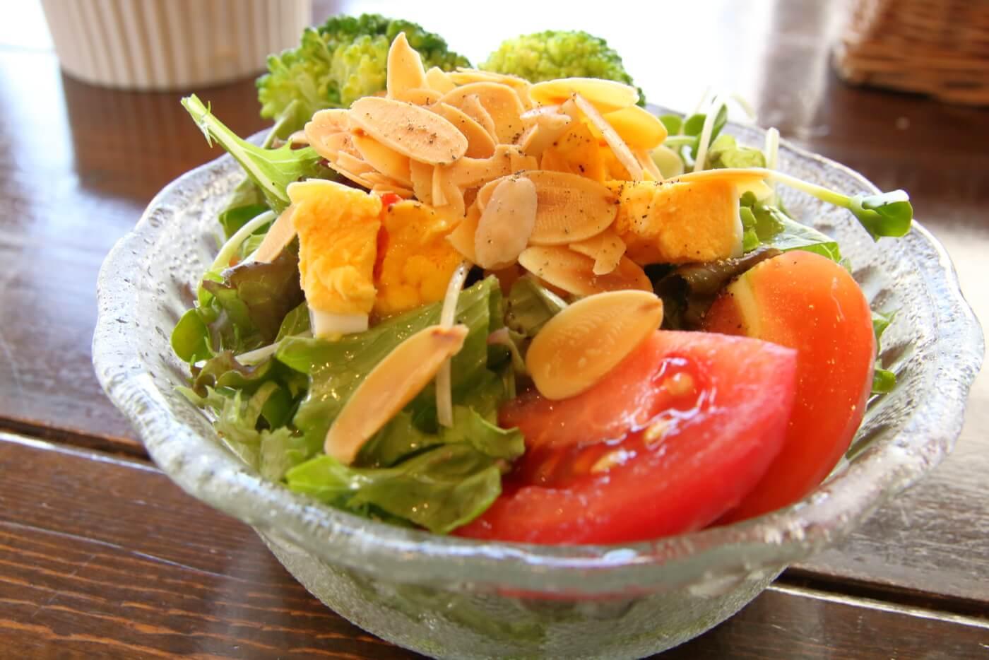 ランヤニコット サラダセットのサラダ