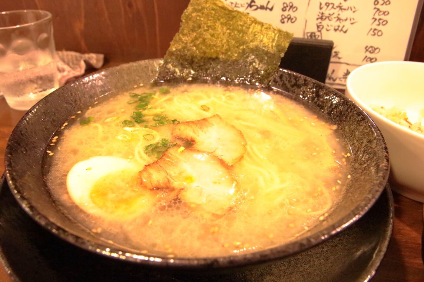 ジェントル麺喰楽部 こってり塩ラーメン