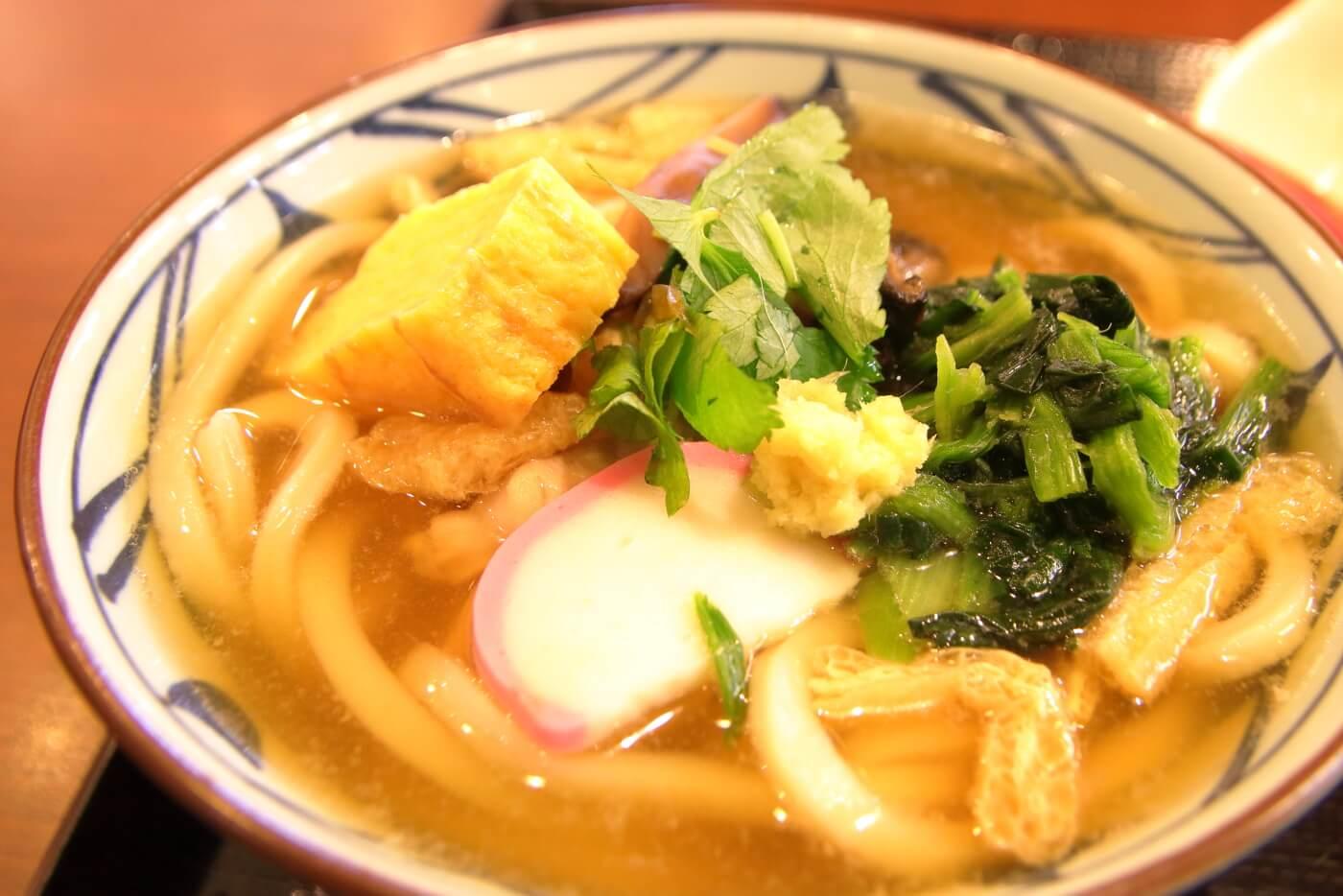 丸亀製麺 五目うどん