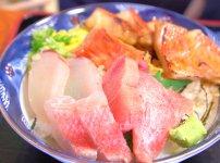 室戸市の料亭花月のキンメ丼
