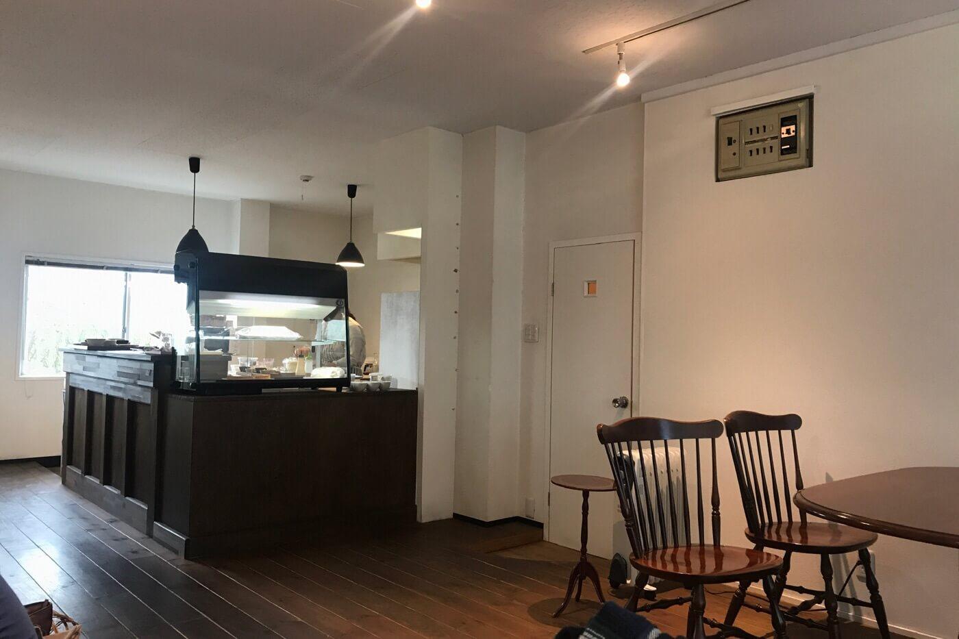 カフェメルバcafe Melba(メルバ)の店内