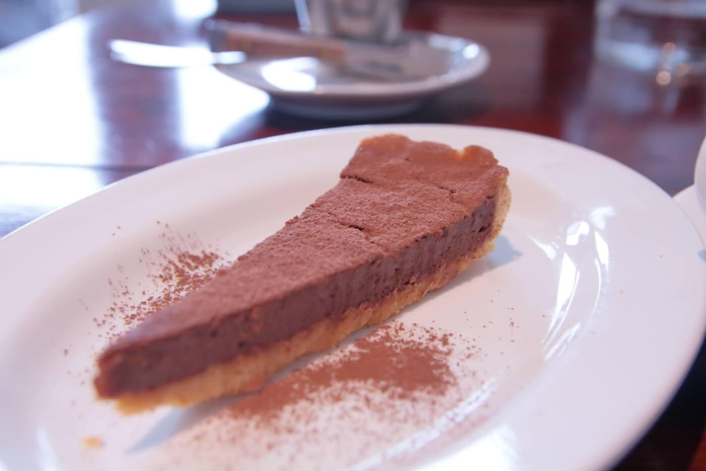 cafe Melba(メルバ)の手作りケーキ チョコレートタルト