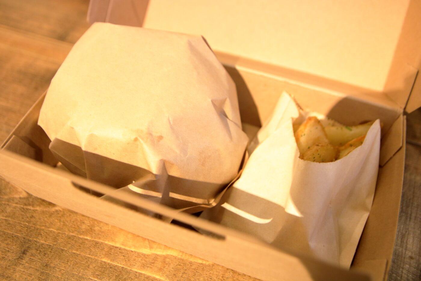 デュロックマン56 高知蔦屋書店 ハンバーガーとホットドッグを持ち帰りテイクアウト