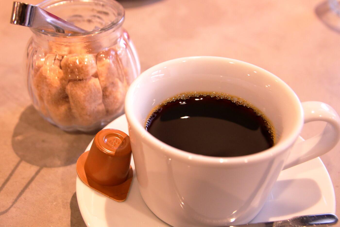 ecocca(イコッカ)高知 ランチ 食後のコーヒー