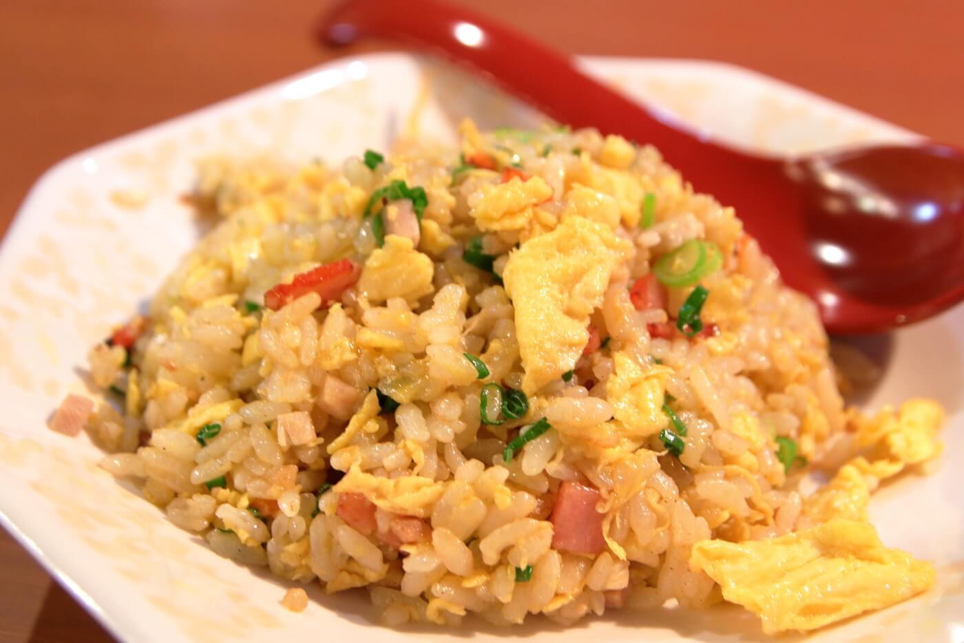 製麺処蔵木南国店 焼飯の小