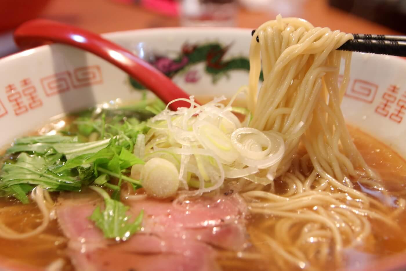 製麺処蔵木南国店 醤油味の中華そば