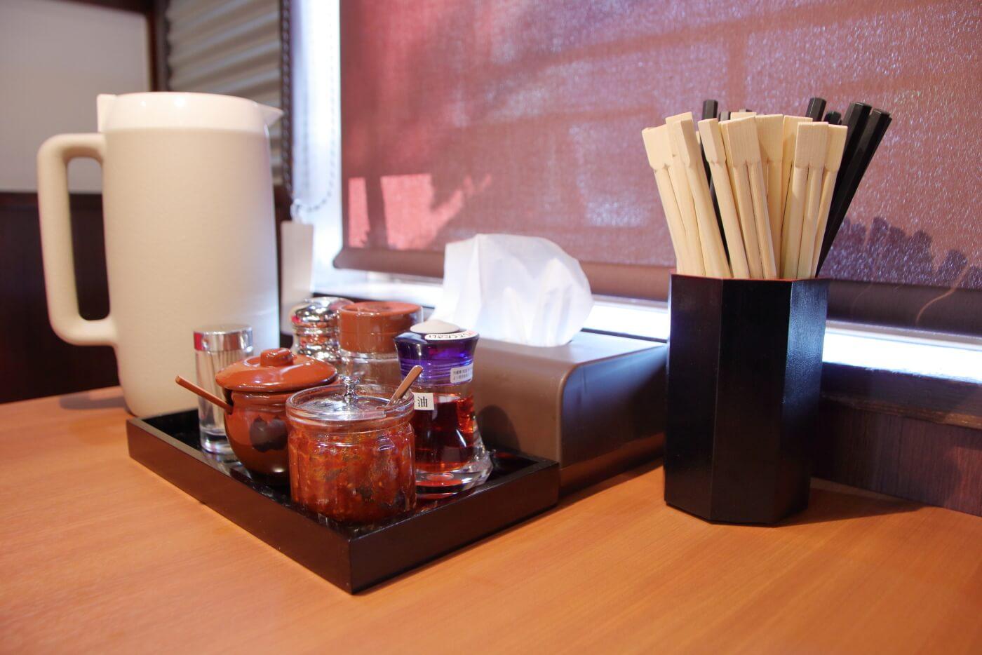 製麺処蔵木南国店の店内