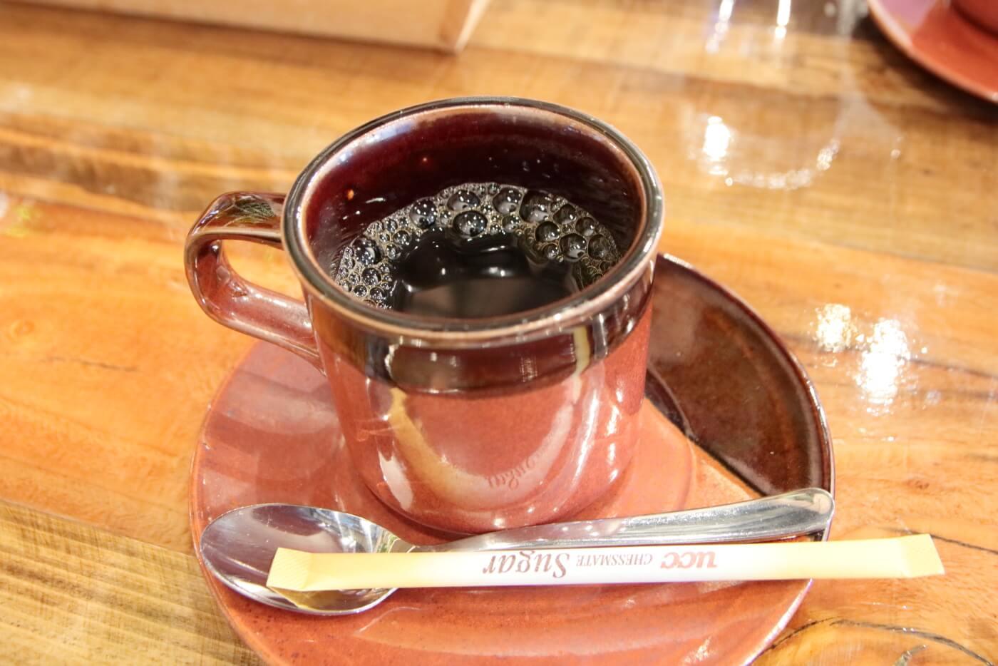 PIzzeriaORTO オルト ランチのコーヒー