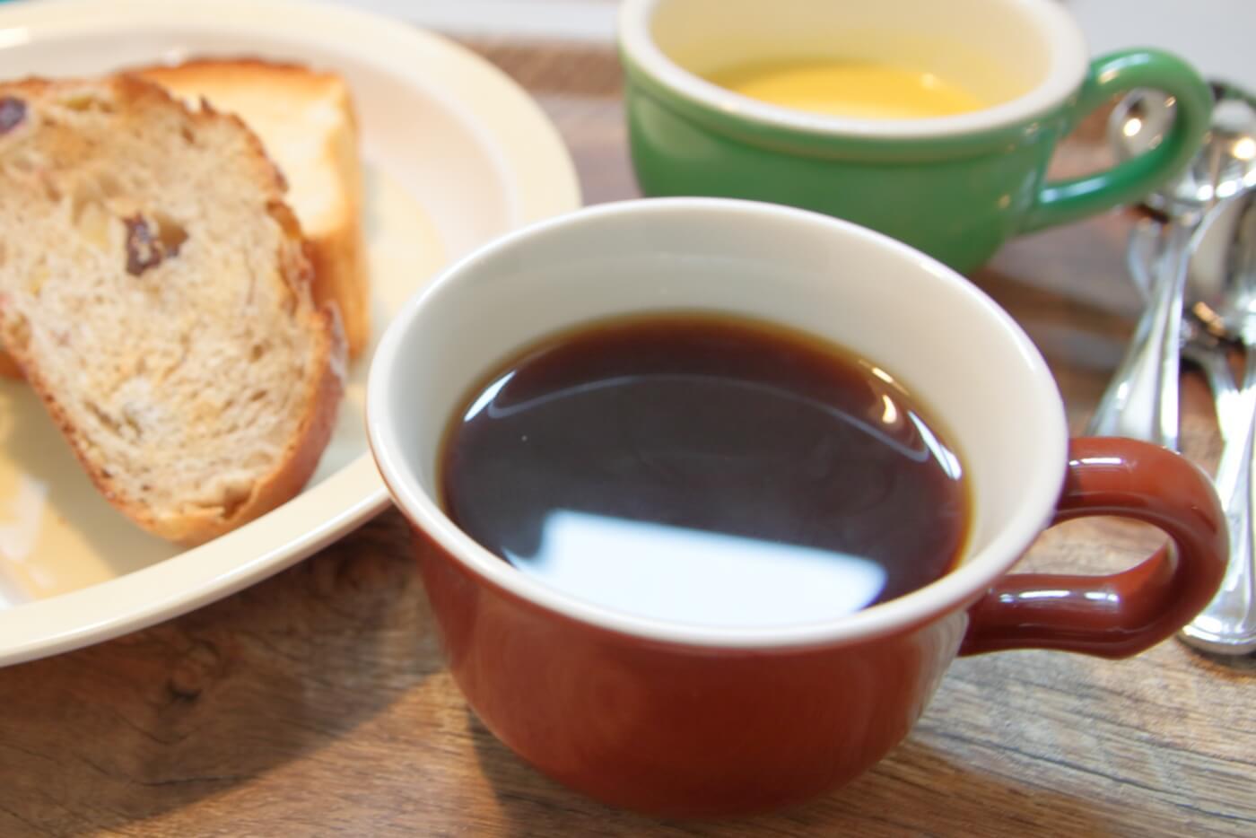 イソップの台所 イソップモーニングのホットコーヒー