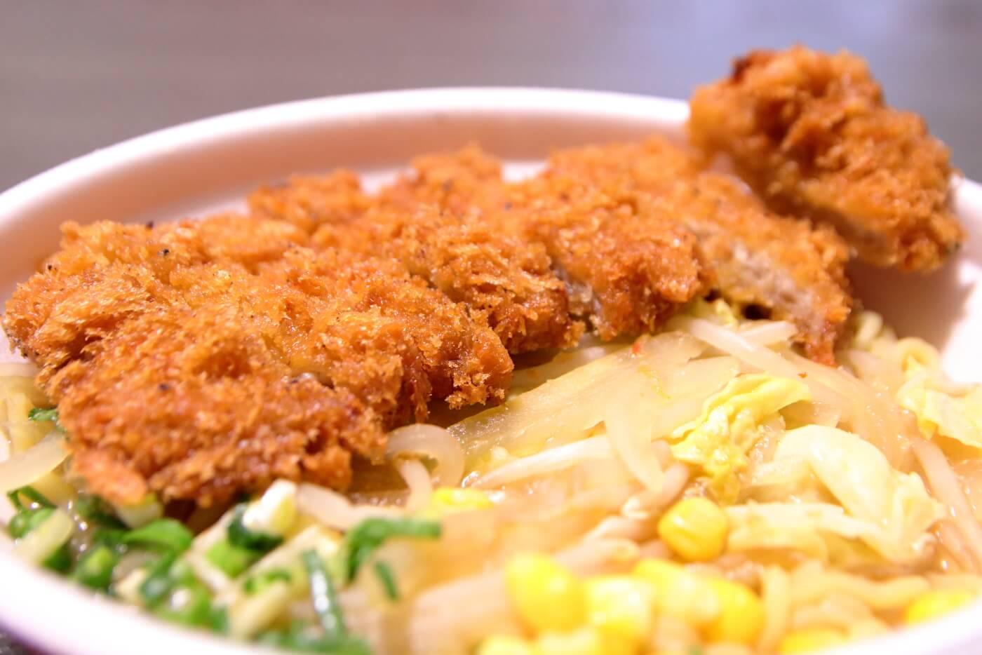 くいしんぼ如月 2018から2019年の味噌カツジャン麺