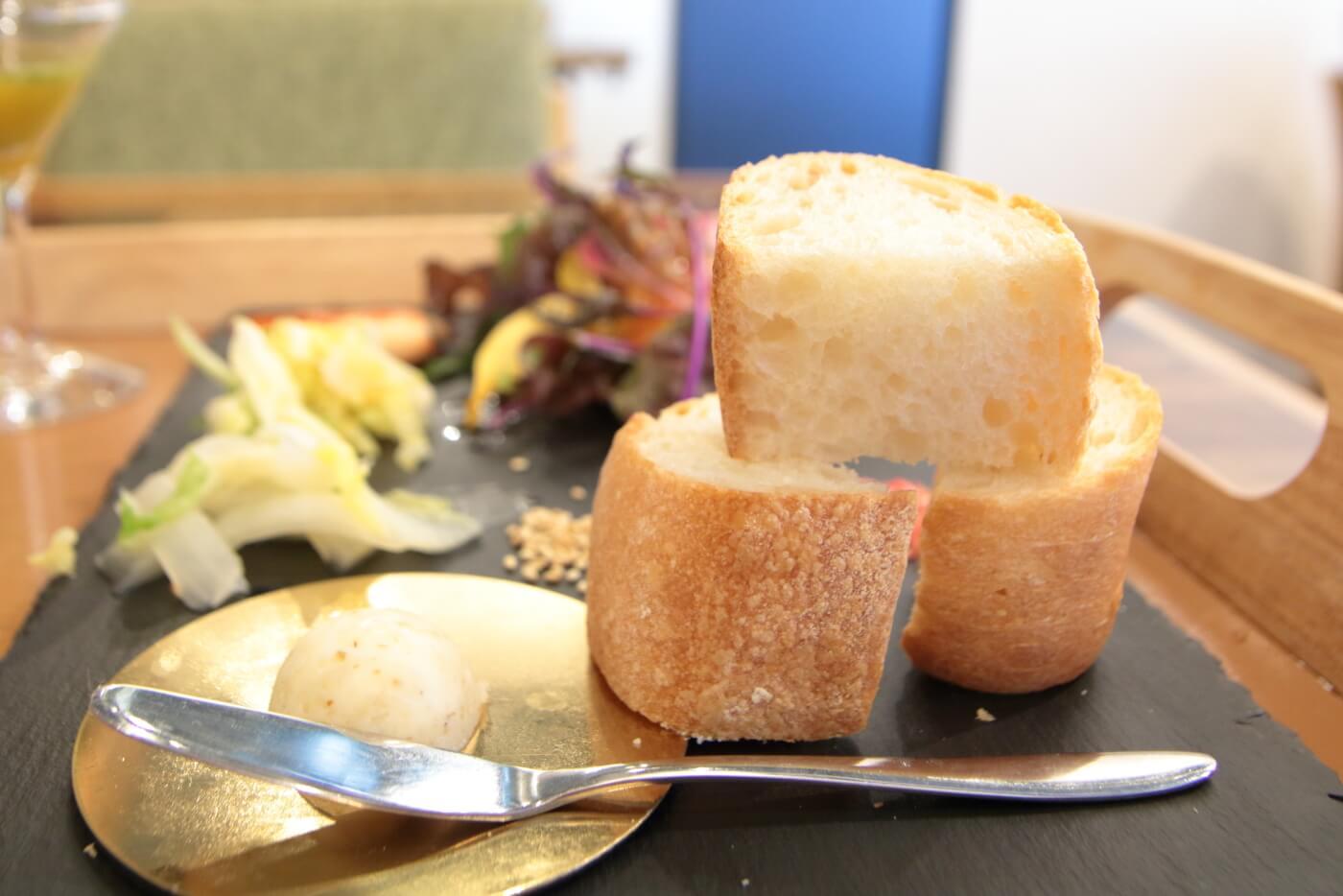 PIzzeriaORTO オルト ランチ フランスパンのトースト