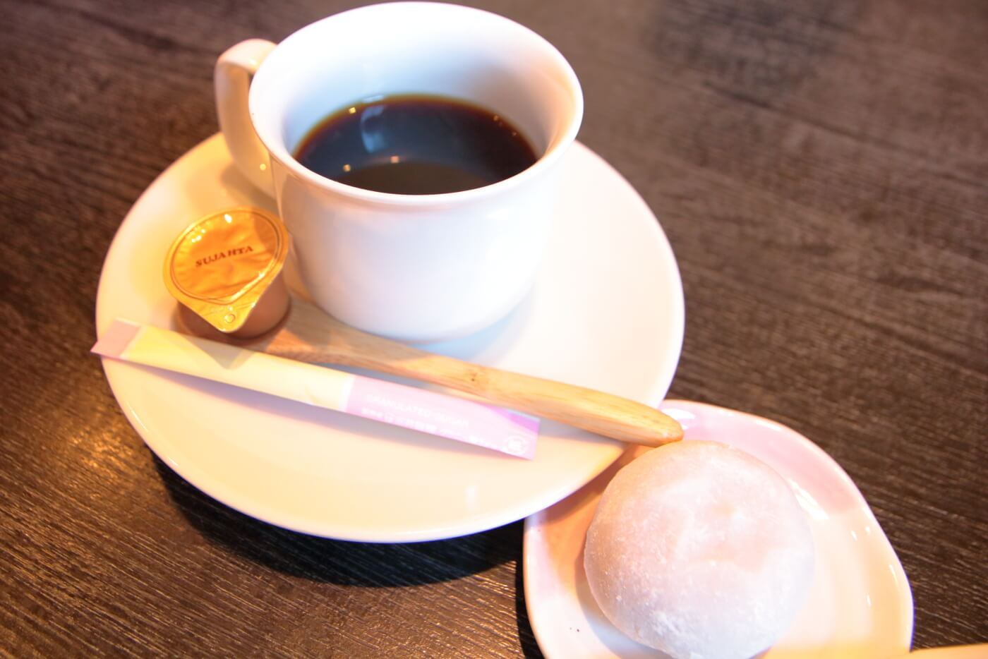 旬家おひざもと ランチのコーヒー