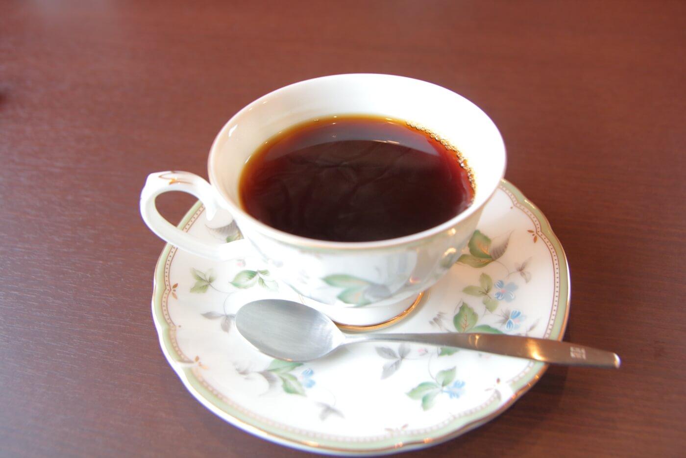 ヴェッセルのランチ 食後のホットコーヒー