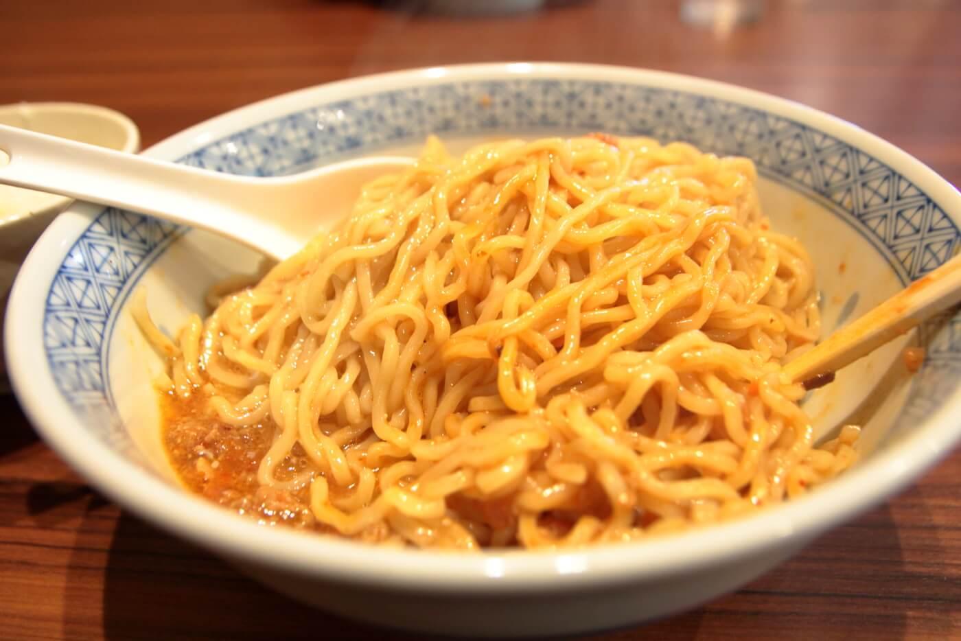 麺や倉橋の汁なし担々麺大盛り1.5玉