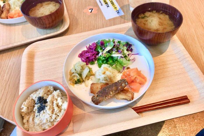 高知蔦屋書店 親子カフェ オーガニックスタイルキッチンの日替わりランチ