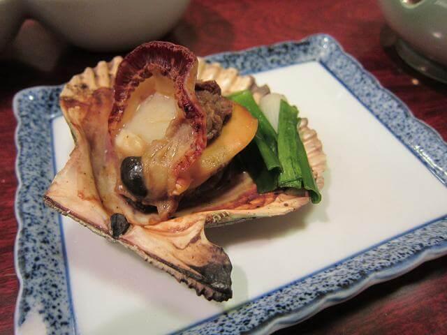 高知市の貝料理屋 満潮 長太郎貝