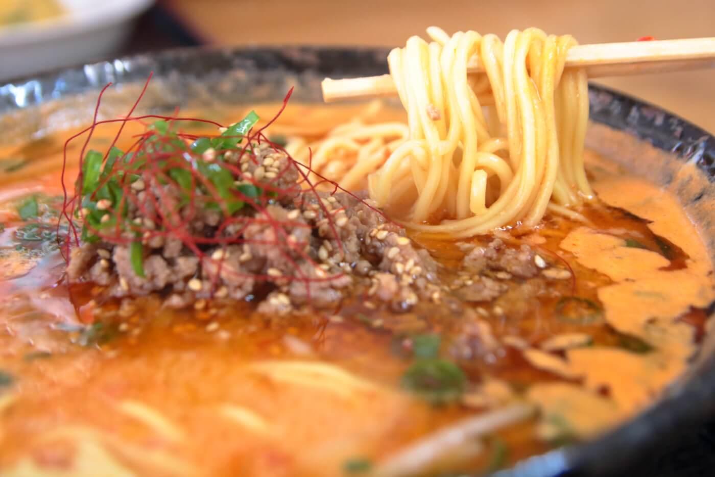 ラーメン・牛すじ処どば 担々麺