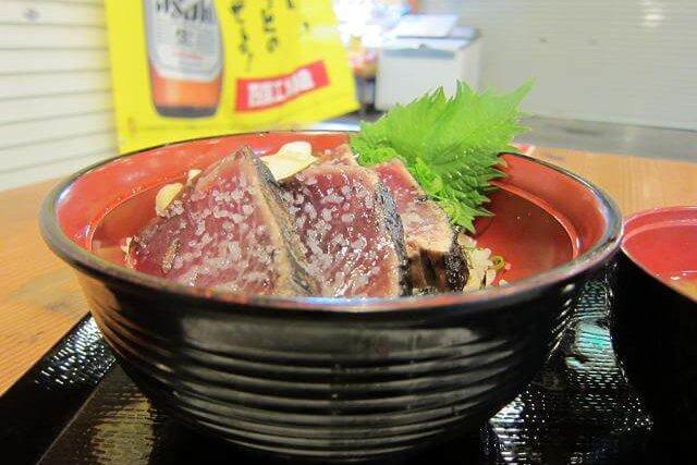 ひろめ市場 明神丸 塩タタキ丼
