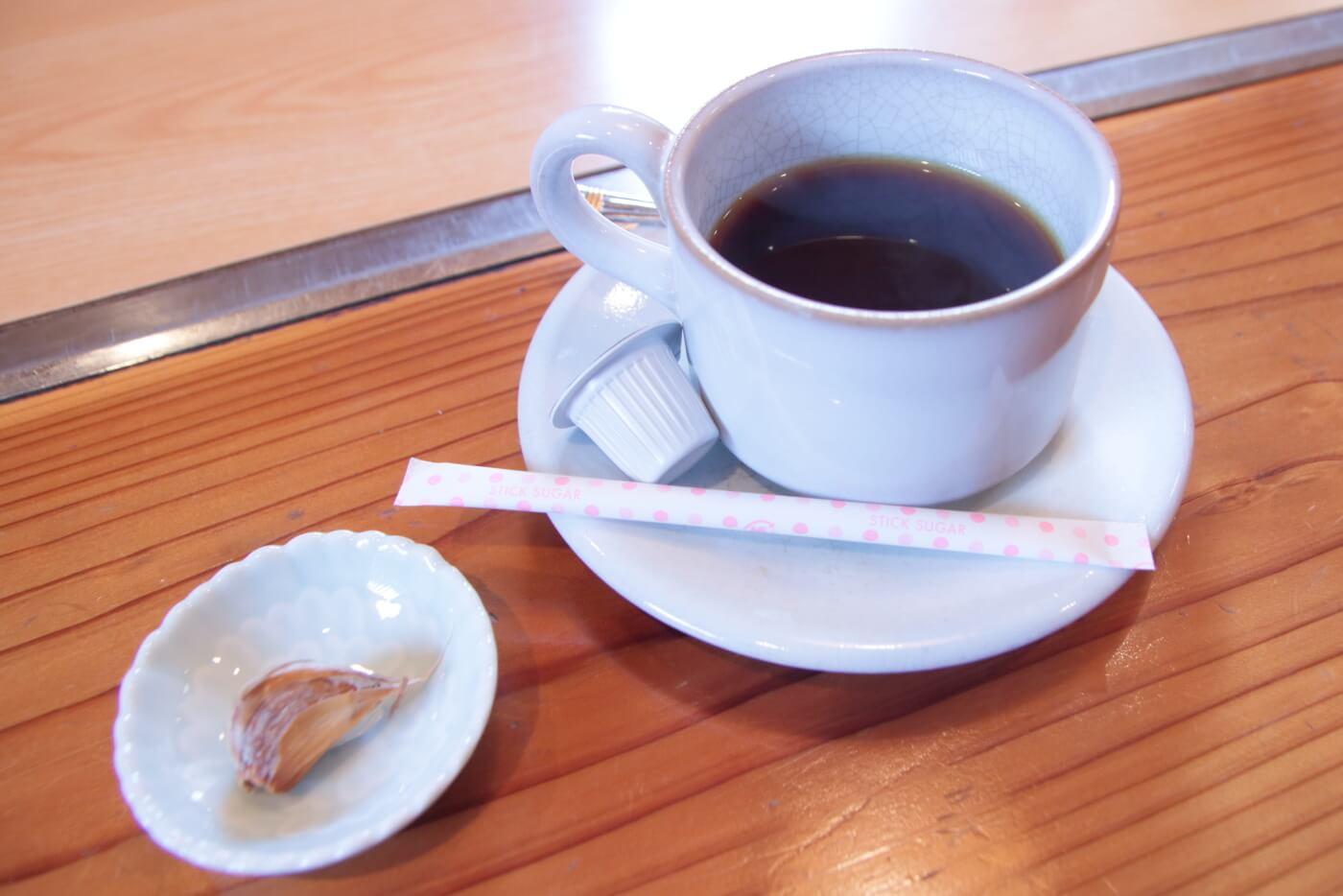 南国農家のランチ 食後のコーヒー