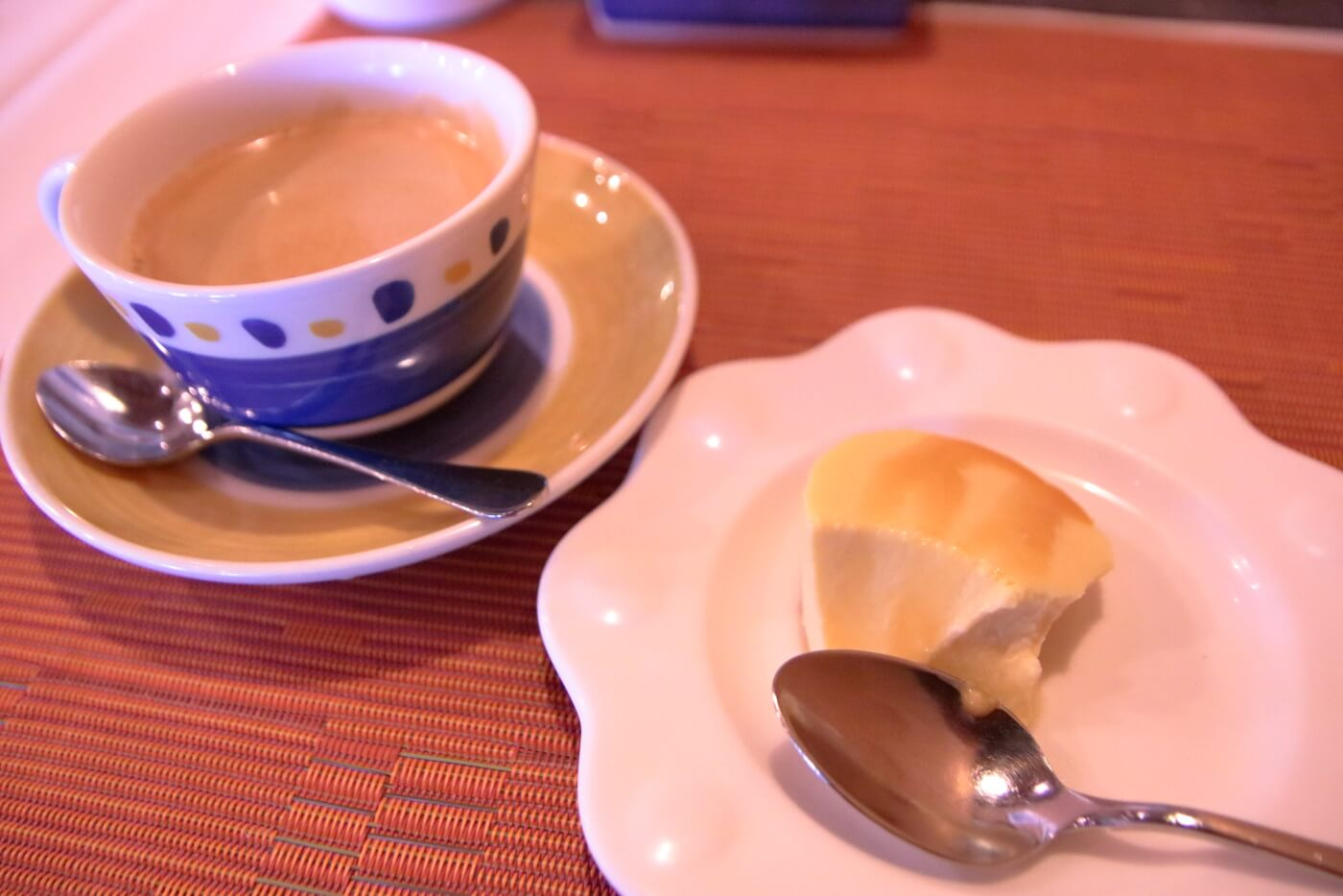 香美市土佐山田町のイタリア料理屋さんクアットロスタジオーニのランチに付くデザート