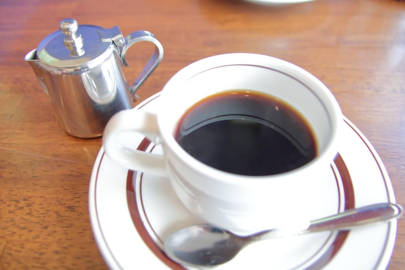 高知市のカフェ蒼乃屋のランチ 食後のコーヒー