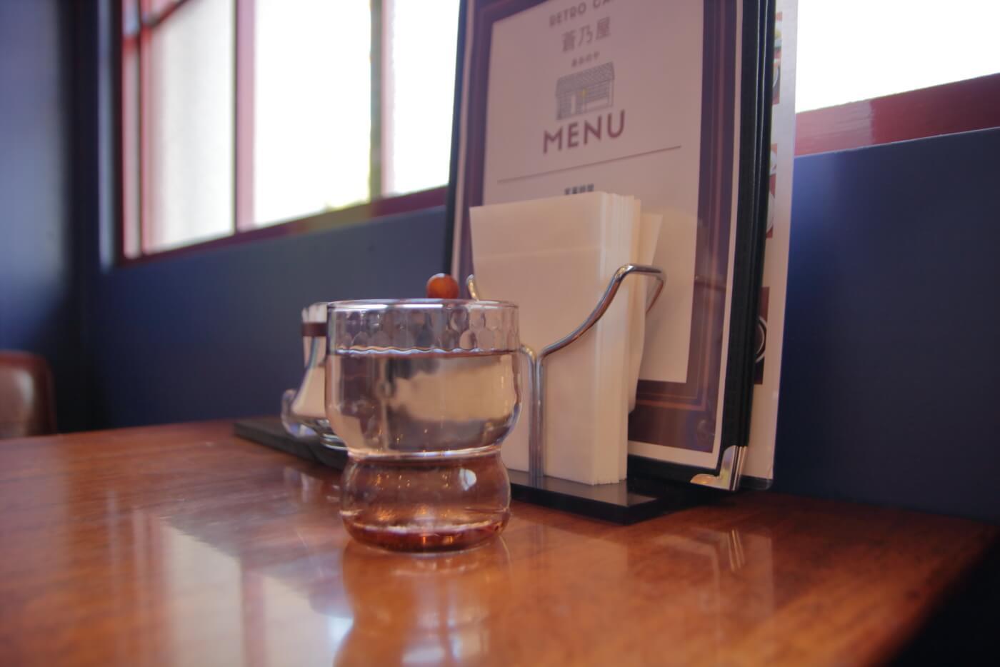 高知市のカフェ蒼乃屋の店内