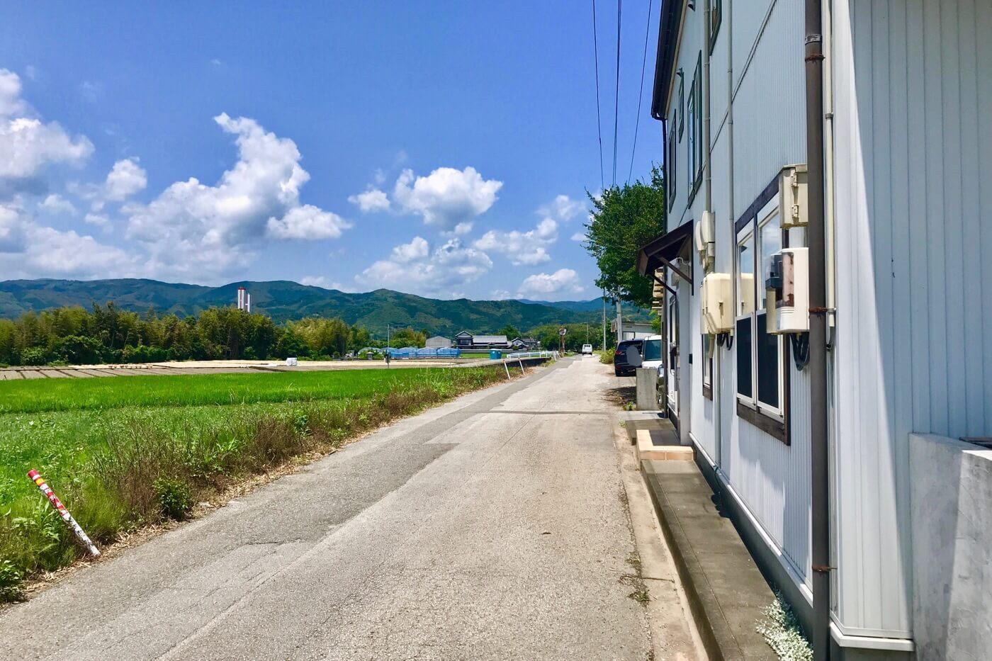 高知・南国市 cafe Amie(カフェアミー)の外観