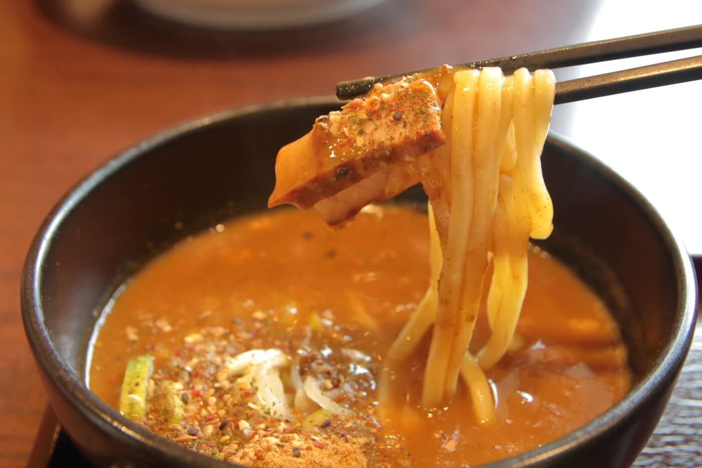 CoCo壱番屋・魚介カレーつけ麺