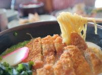 JA高知病院内のレストラン グリーンハウスの味噌カツラーメン