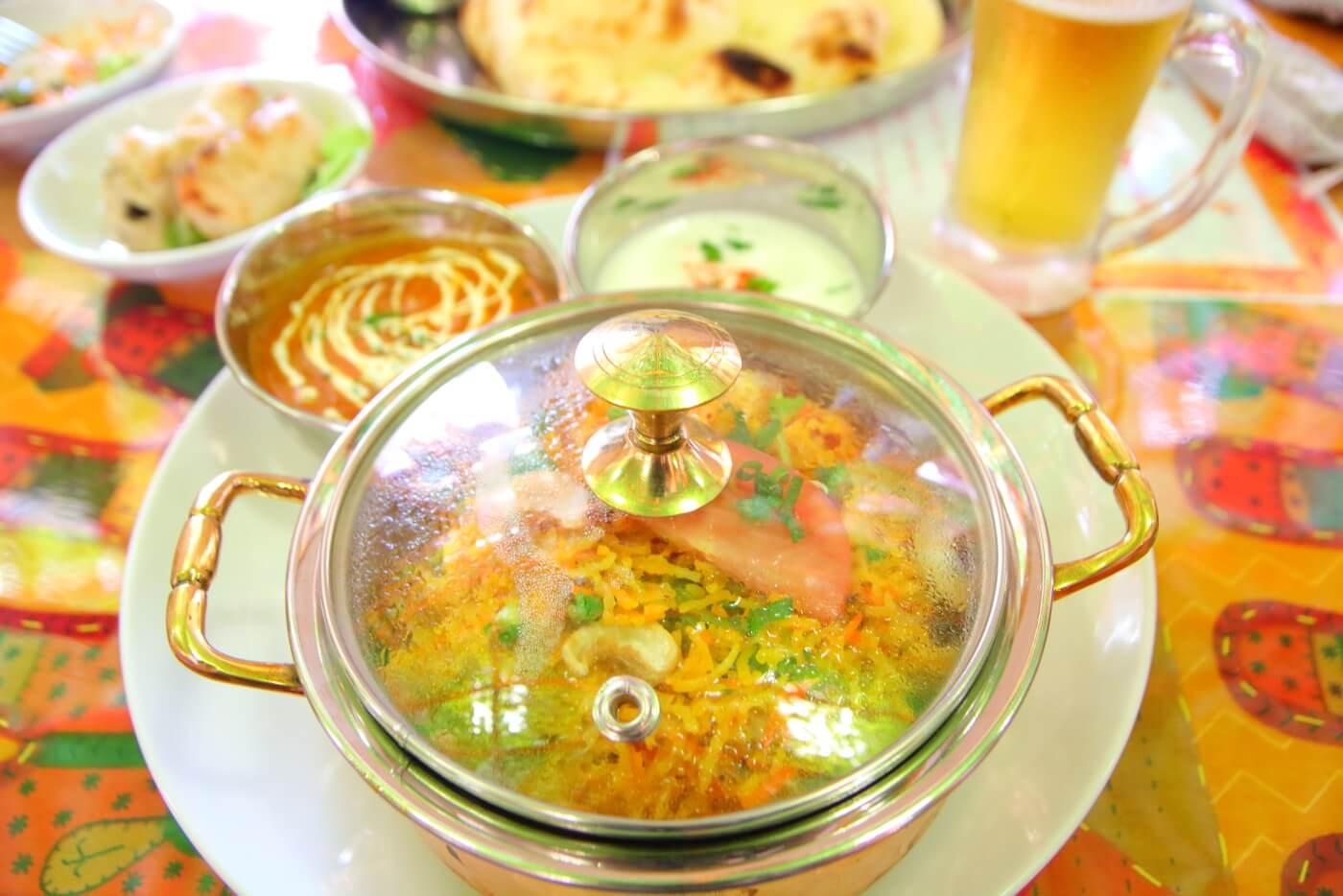 インド料理 スビマハル ビリヤニセット
