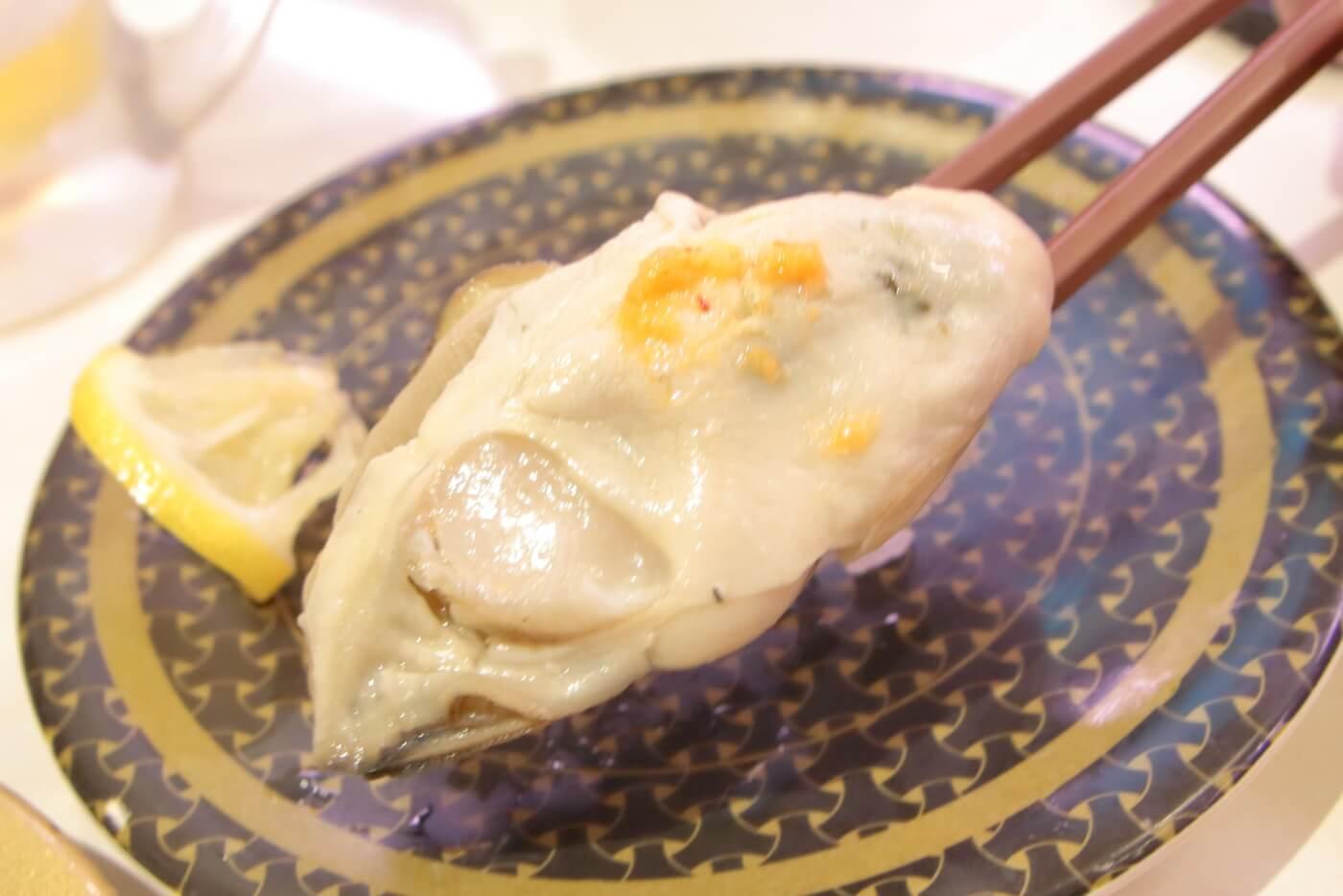 はま寿司 牡蠣握り