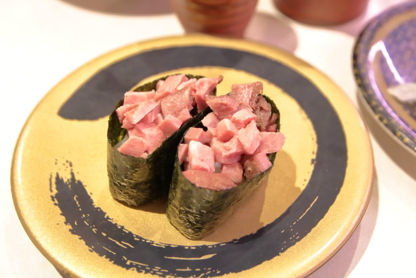 はま寿司 牛タン軍艦
