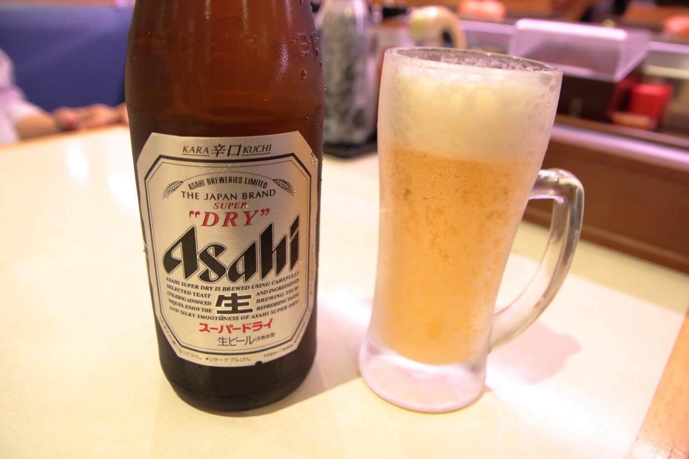 はま寿司 瓶ビール(中)