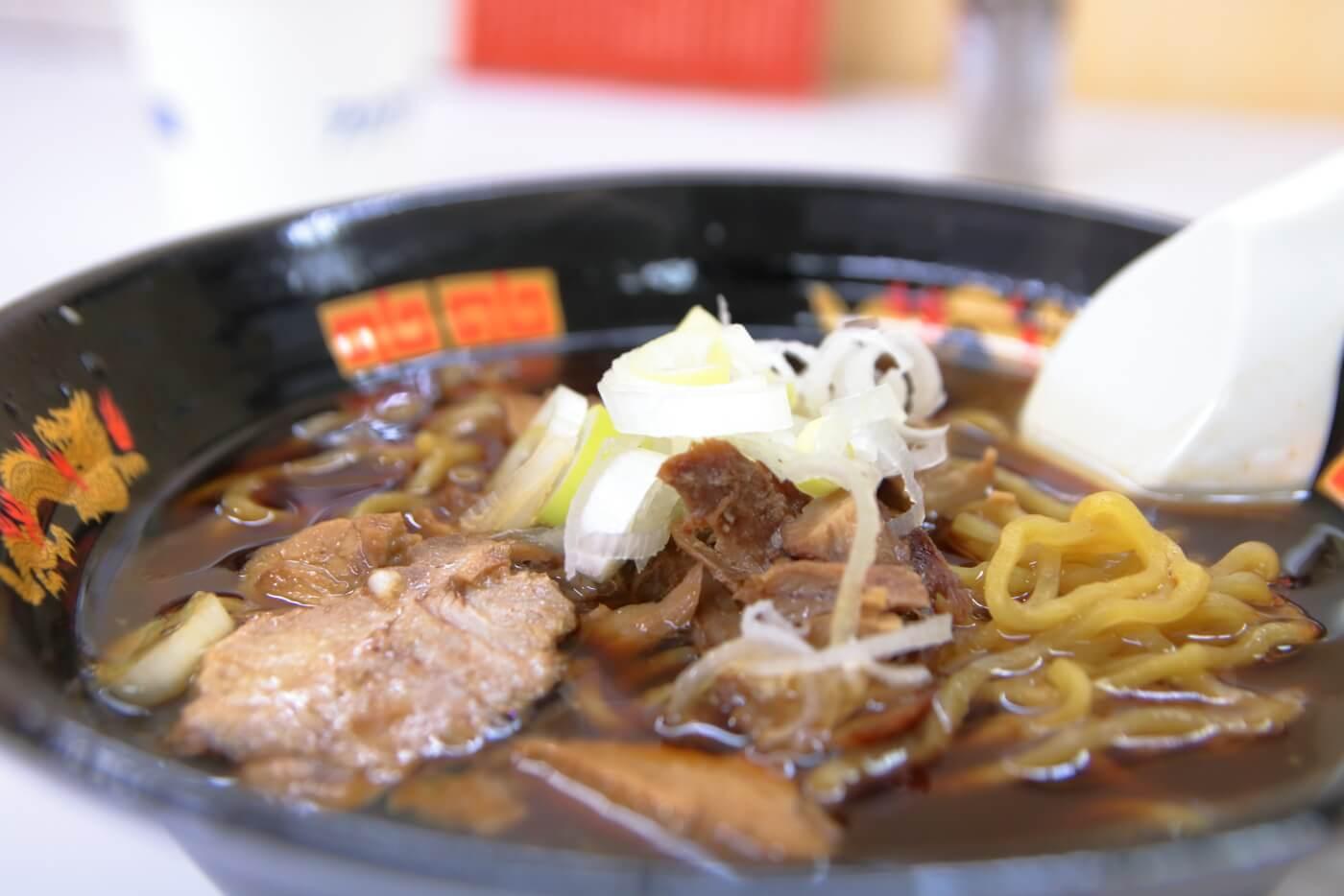 高知大丸 秋の北海道物産展2019 西山製麺 醤油ラーメン