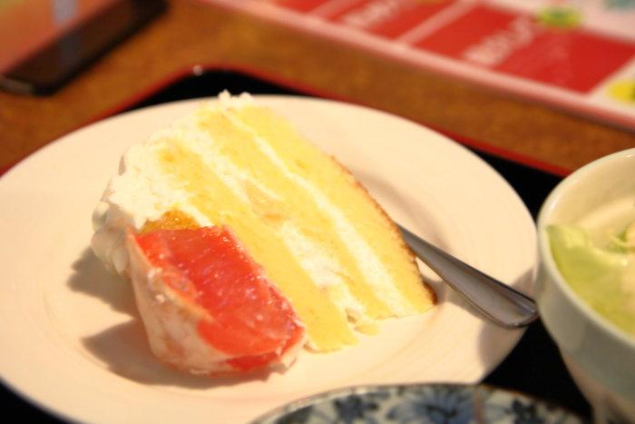 焼肉菜館 大五郎 デザートのケーキ