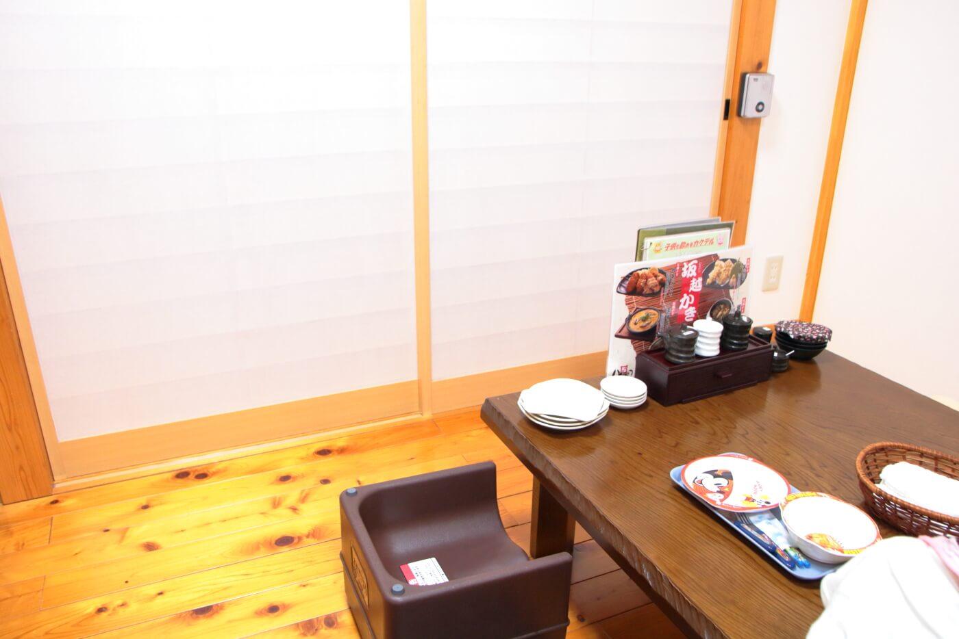 高知市の居酒屋 八右衛門(はちえもん) 内観 個室の座敷