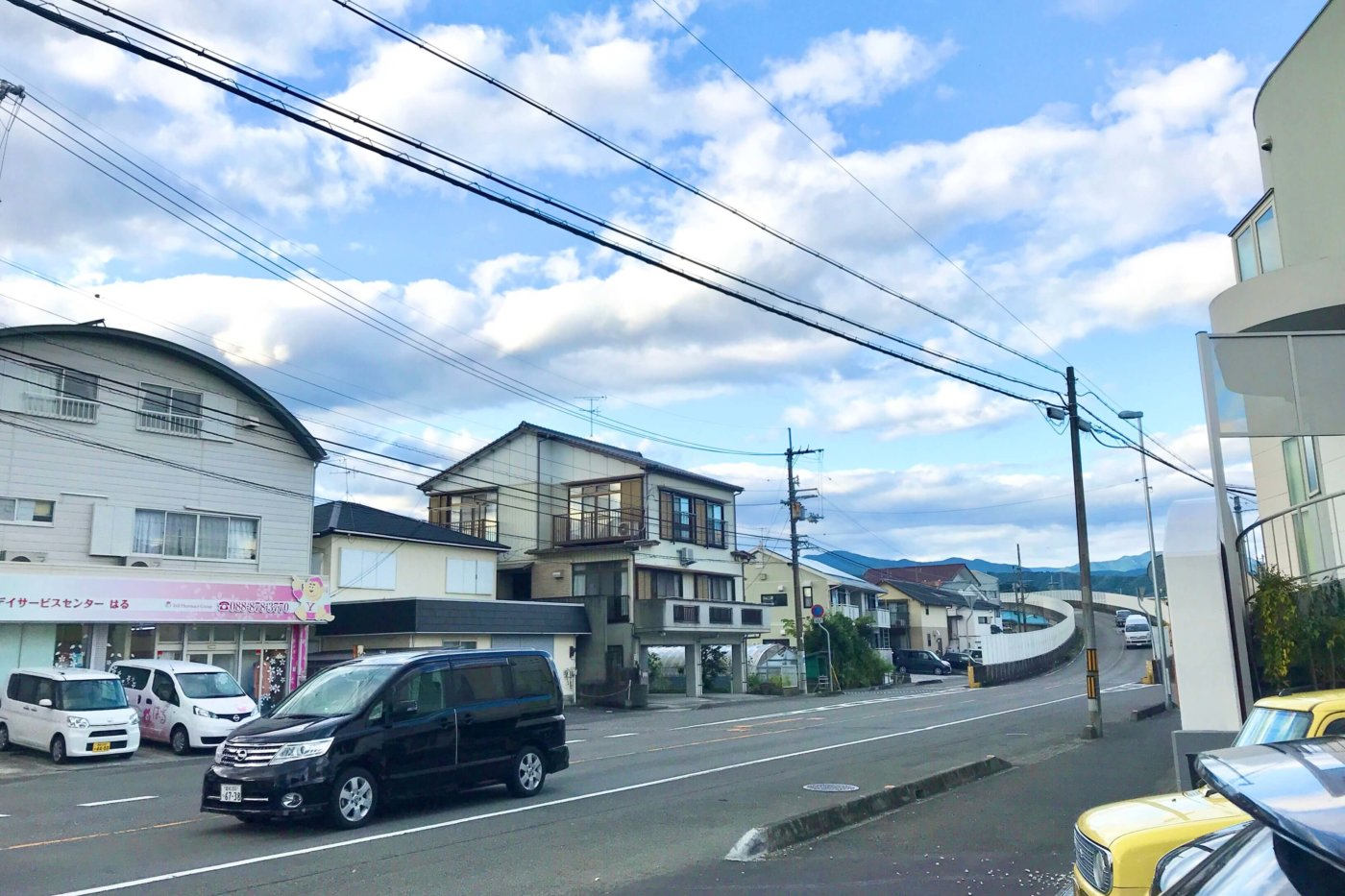 高知市大津のラーメン屋さん 一心 店先の風景