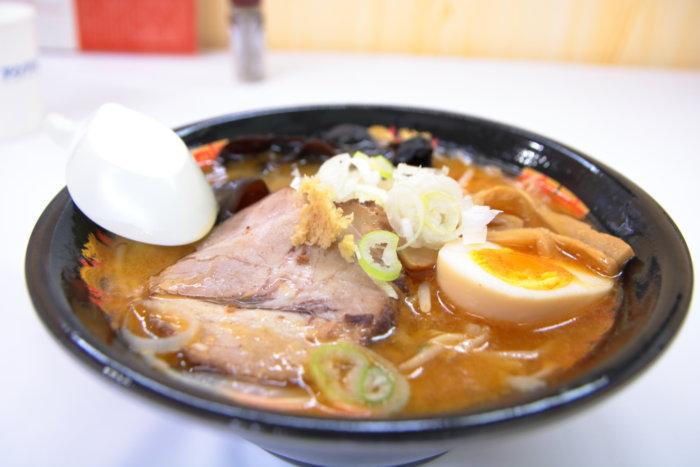 高知大丸 秋の北海道物産展2019 西山製麺 味噌ラーメン