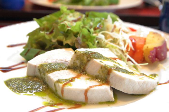 天然温泉はるのの湯 レストラン グランディールはるの ランチ 日替わり洋風料理