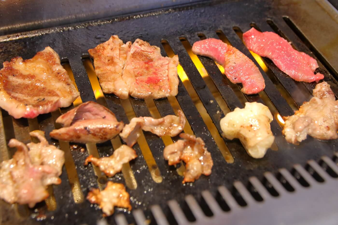焼肉あおき屋 土佐道路店のランチ 焼肉